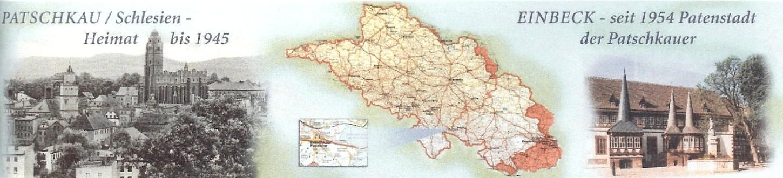 Karte Schlesien