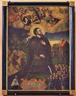 Votivbild Hl. Rochus, 1633, (HR)