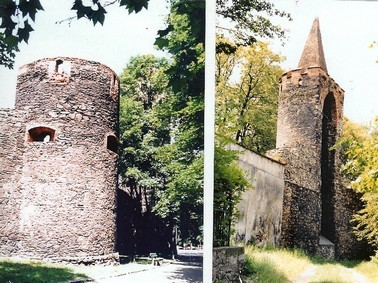 Wehrtürme in der Stadtmauer