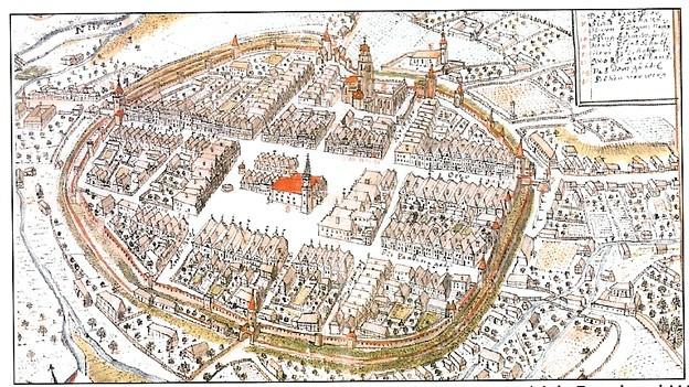 Stadtplan von 1730