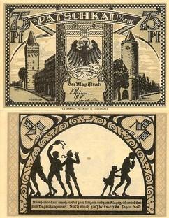 Patschkauer Notgeld von 1921