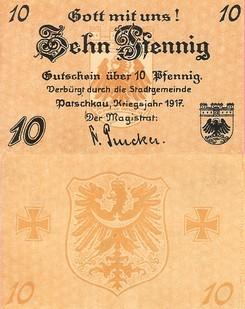 Patschkauer Notgeld von 1917