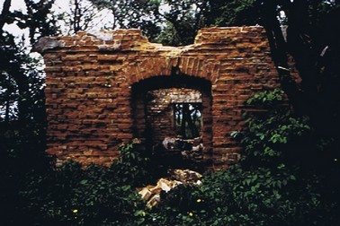 Ruine eines Backhauses am Hinterweg, (RL 1986)