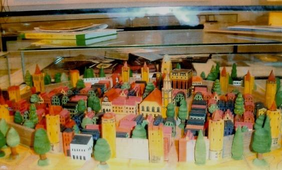 Kleines Stadtmodell (Baukastensatz - vergriffen)