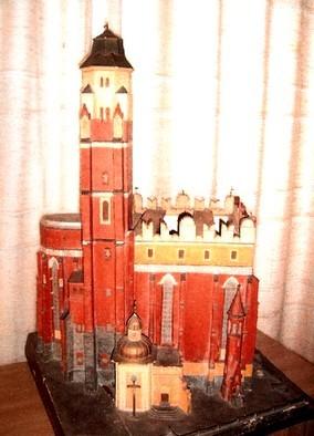 Modell der St. Johannis-Evanglist Kirche