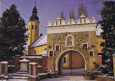 Kirchepforte  St. Nikolaus (HR)