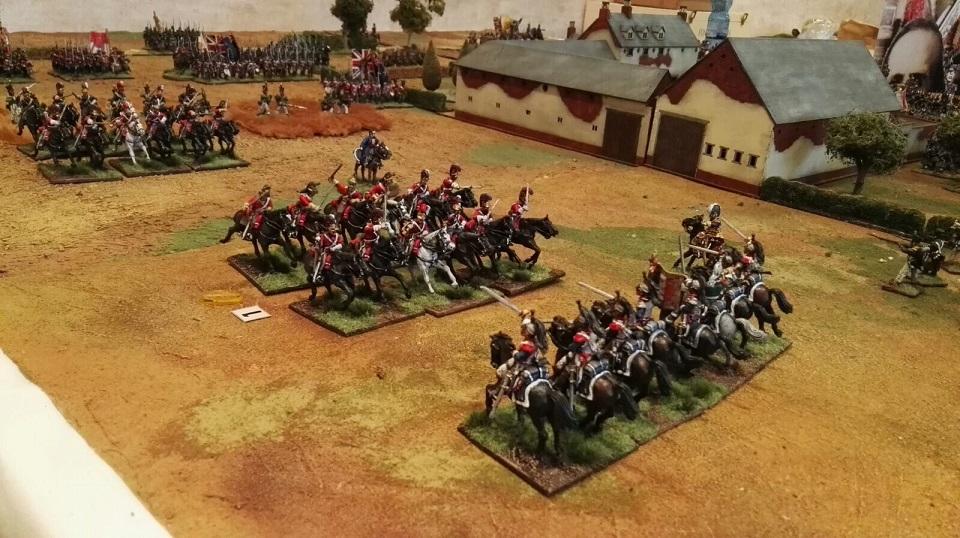 Corazzieri francesi vs. Guardie Inglesi
