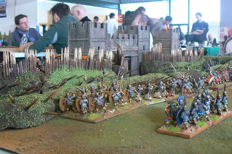 I Flaviani all'assalto del campo trincerato
