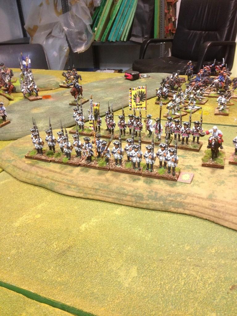 La fanteria austriaca