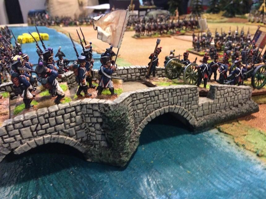 I Francesi attraversano il Danubio