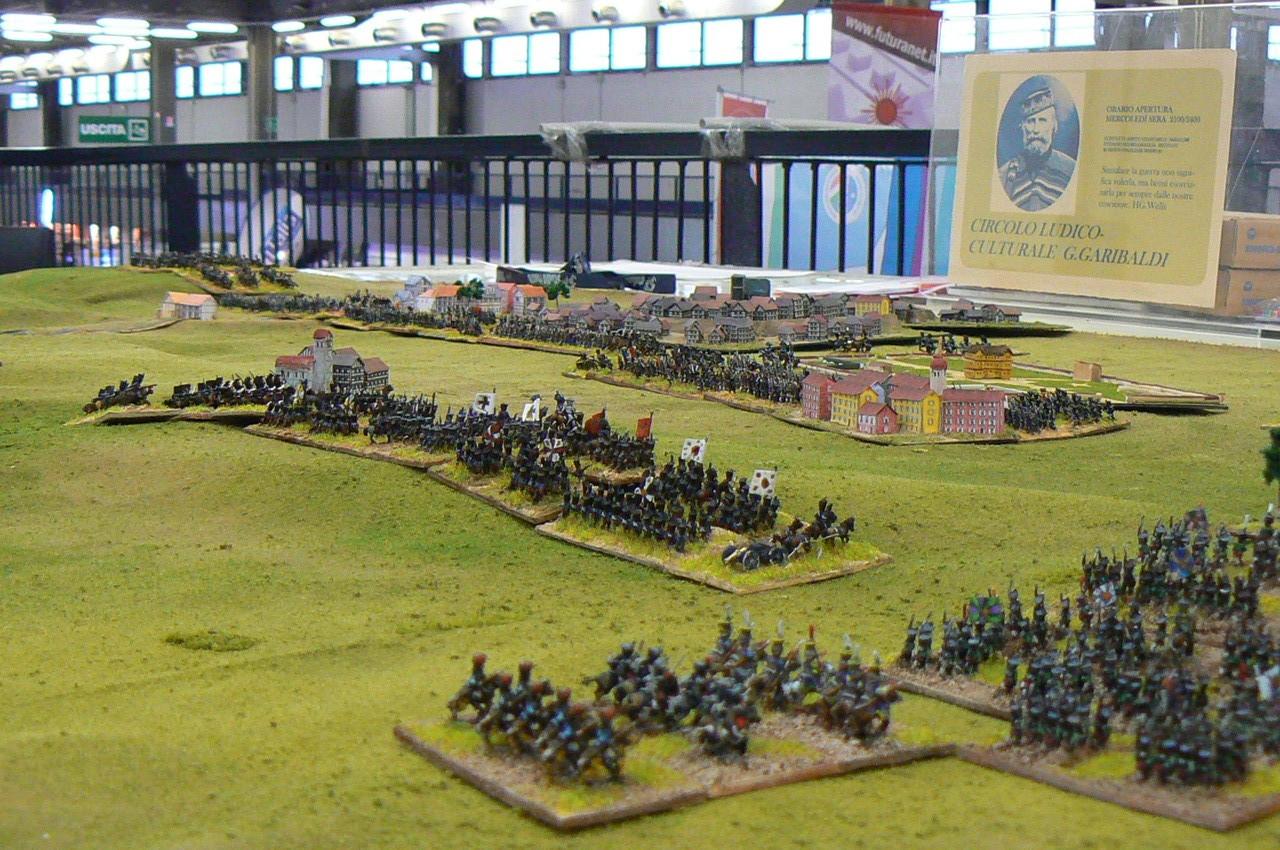 I prussiani di Kleist avanzano al centro