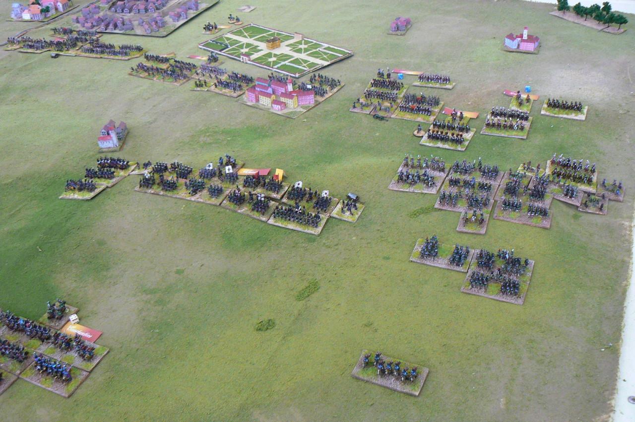 La cavalleria di Murat all'attacco