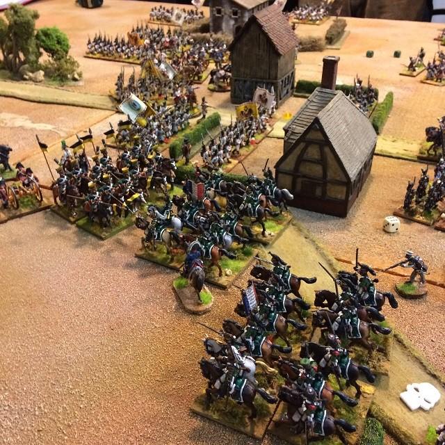 Scontro di cavalleria