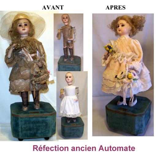 Automate de La clinique des poupées - Bordeaux