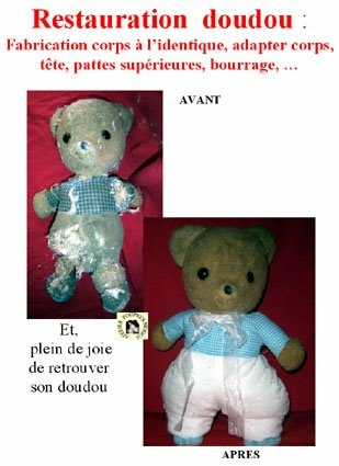 Peluche de La clinique des poupées - Bordeaux