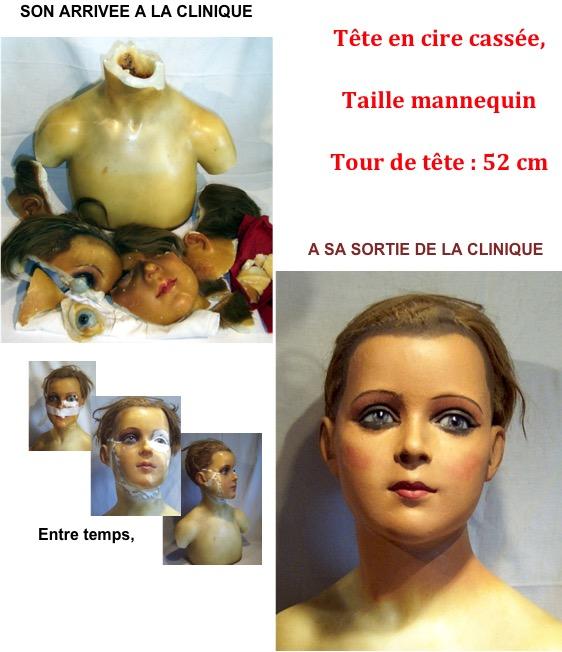 Cire mannequin de La clinique des poupées - Bordeaux