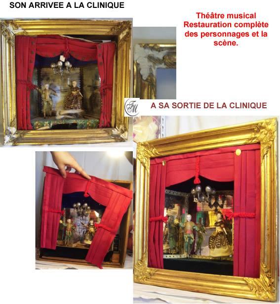 Theâtre tableau de La clinique des poupées - Bordeaux