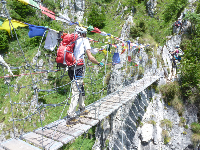 Ferrata Sass Brusai