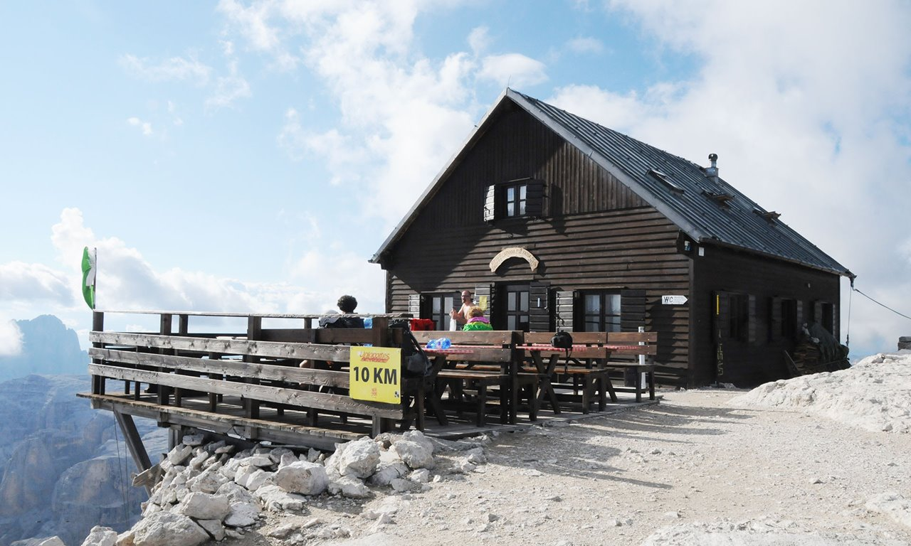 Passo Pordoi - Piz BOE' (Capanna Fassa) m.3150