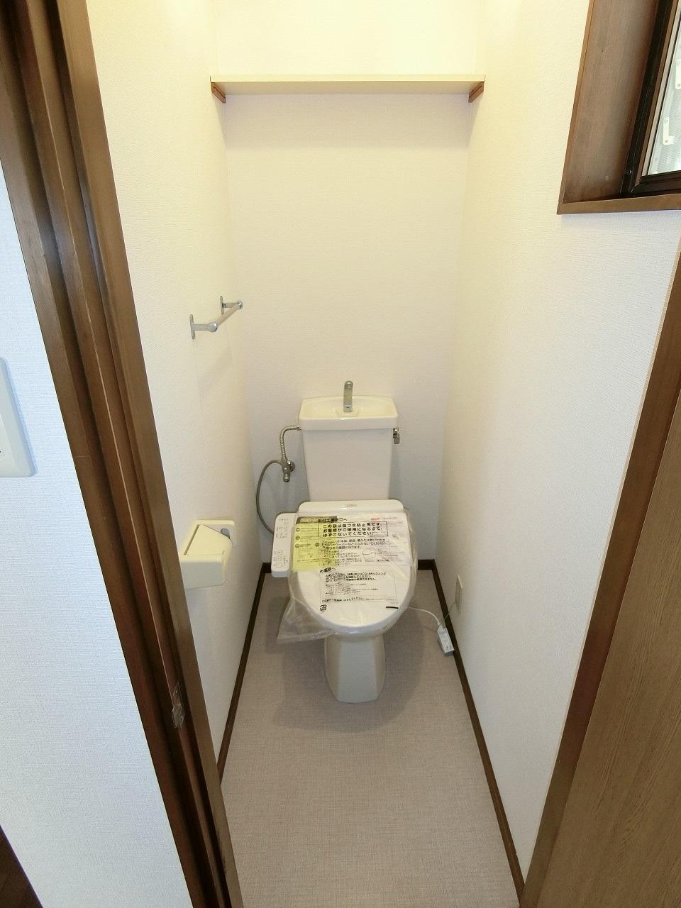 トイレもリフォーム済み