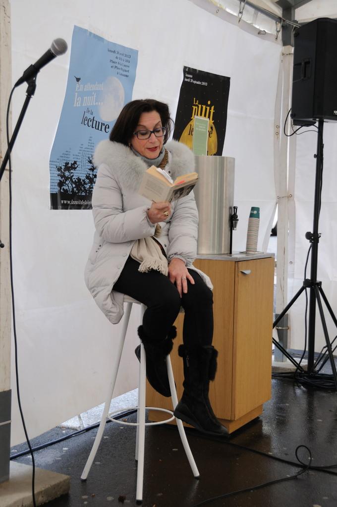 """Pascale Luy lit """"Grâce et dénuement"""" d'Alice Ferney"""