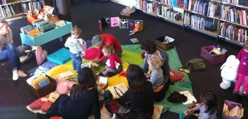 Bibliothèque de Pully, novembre 2012