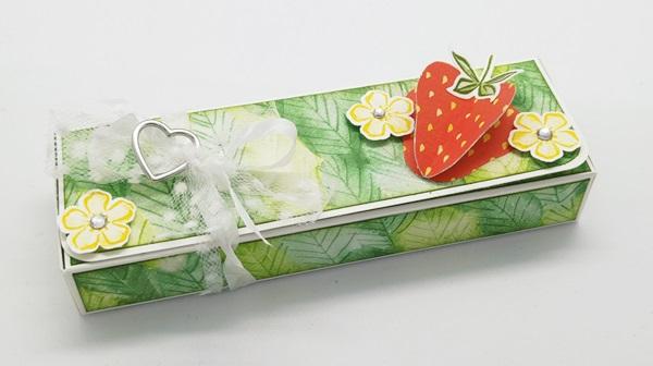 Lindt Herzpralinenbox Beerenstark Stampin Up
