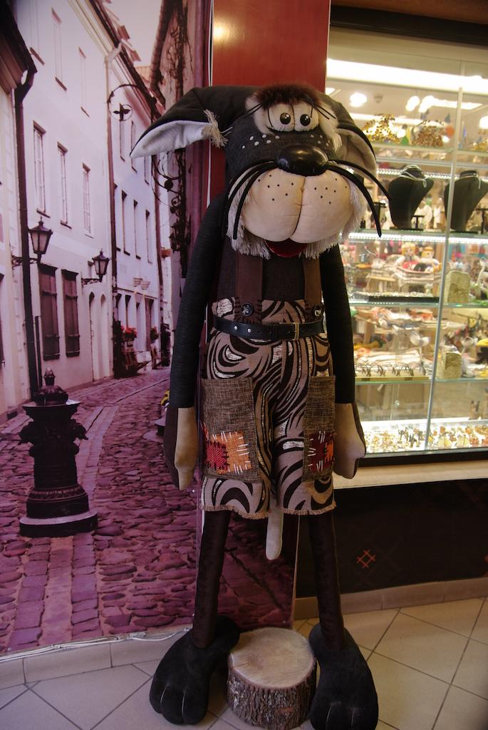 Riga, la ville des chats