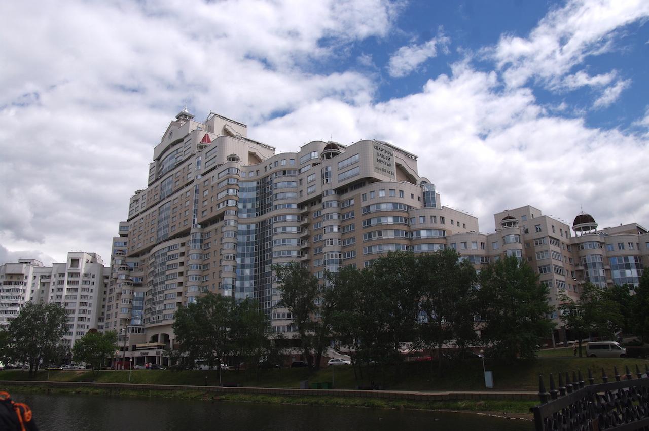 Combien d'appartements dans ce gigantesque ensemble ?