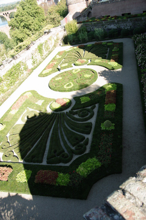 Les jardins du palais Berbie