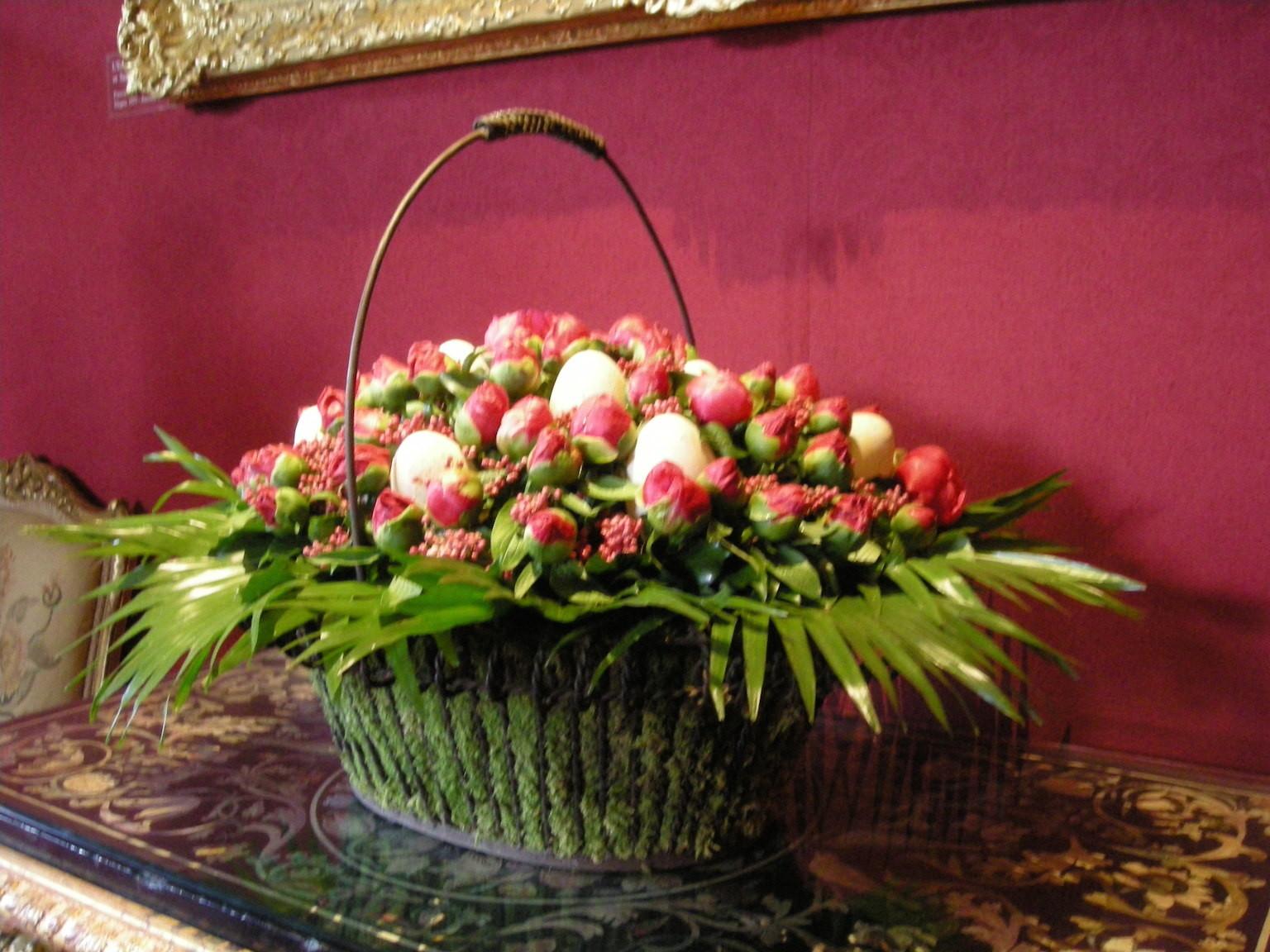 Les bouquets.