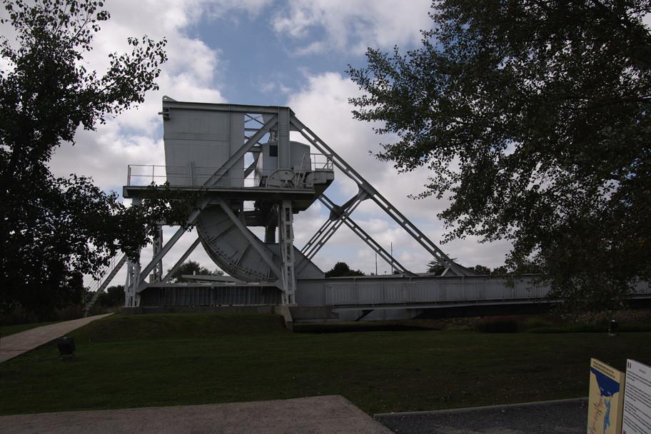 """Le """"vrai"""" pont ; démonté lors de son remplacement"""