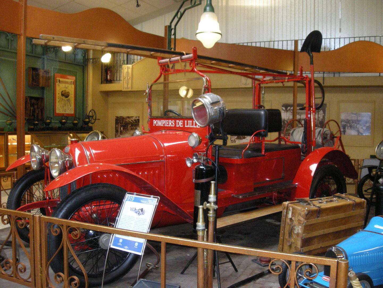 Camion de pompiers de 1919