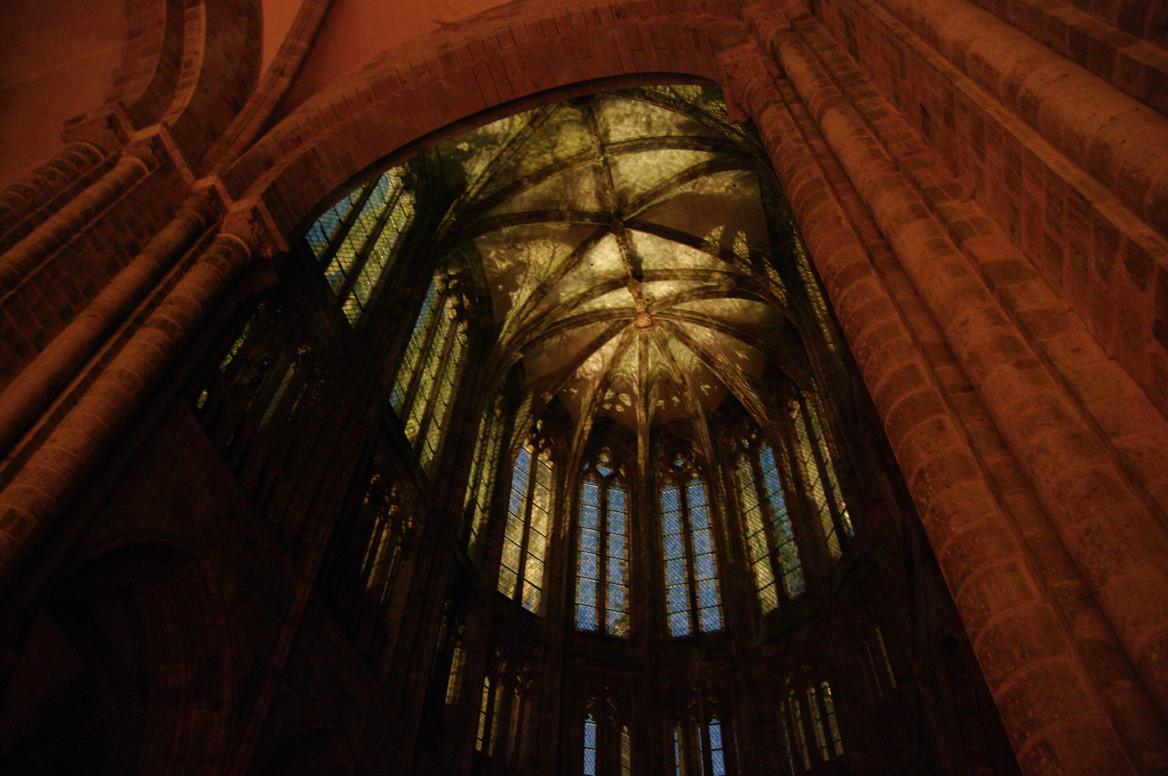 Les vitraux du chœur de l'abbaye