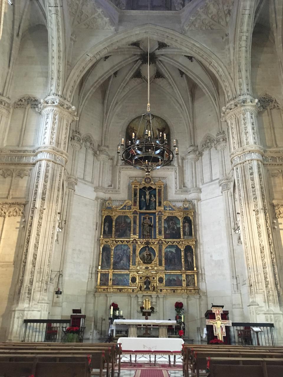 Choeur de l'église