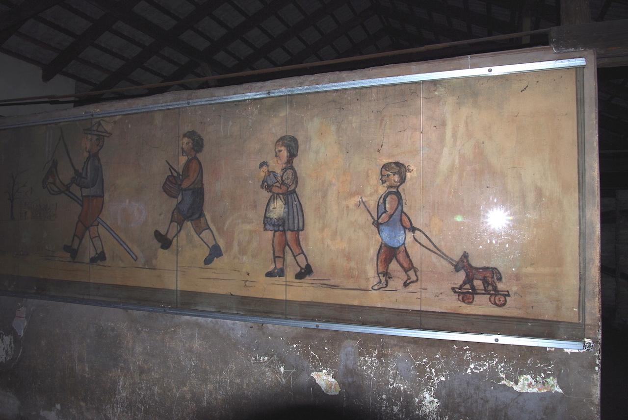 Fresque réalisée par des enfants