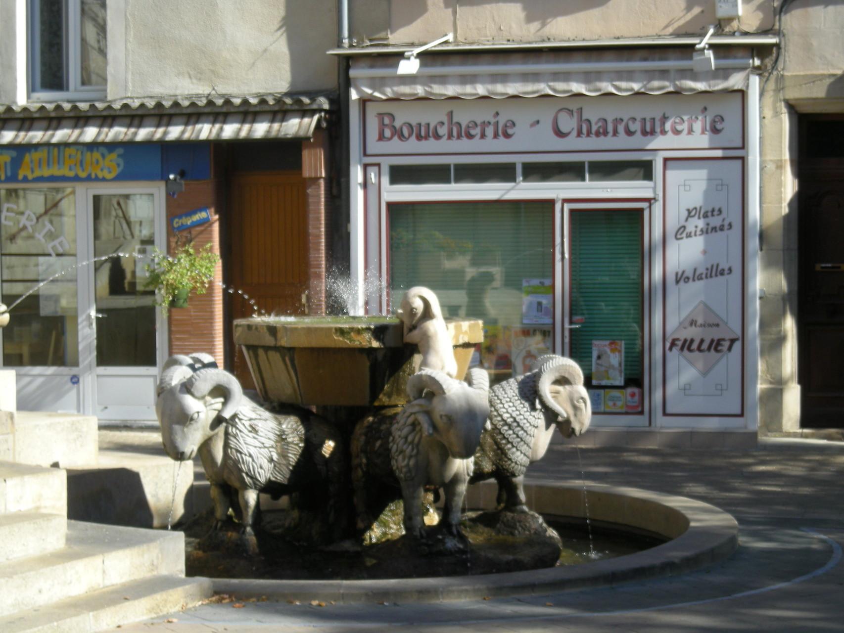 Etonnante fontaine