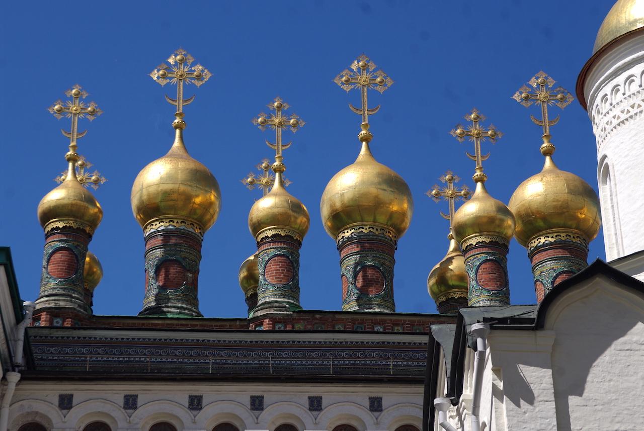 L'Eglise de la Déposition de la Robe de la Vierge.