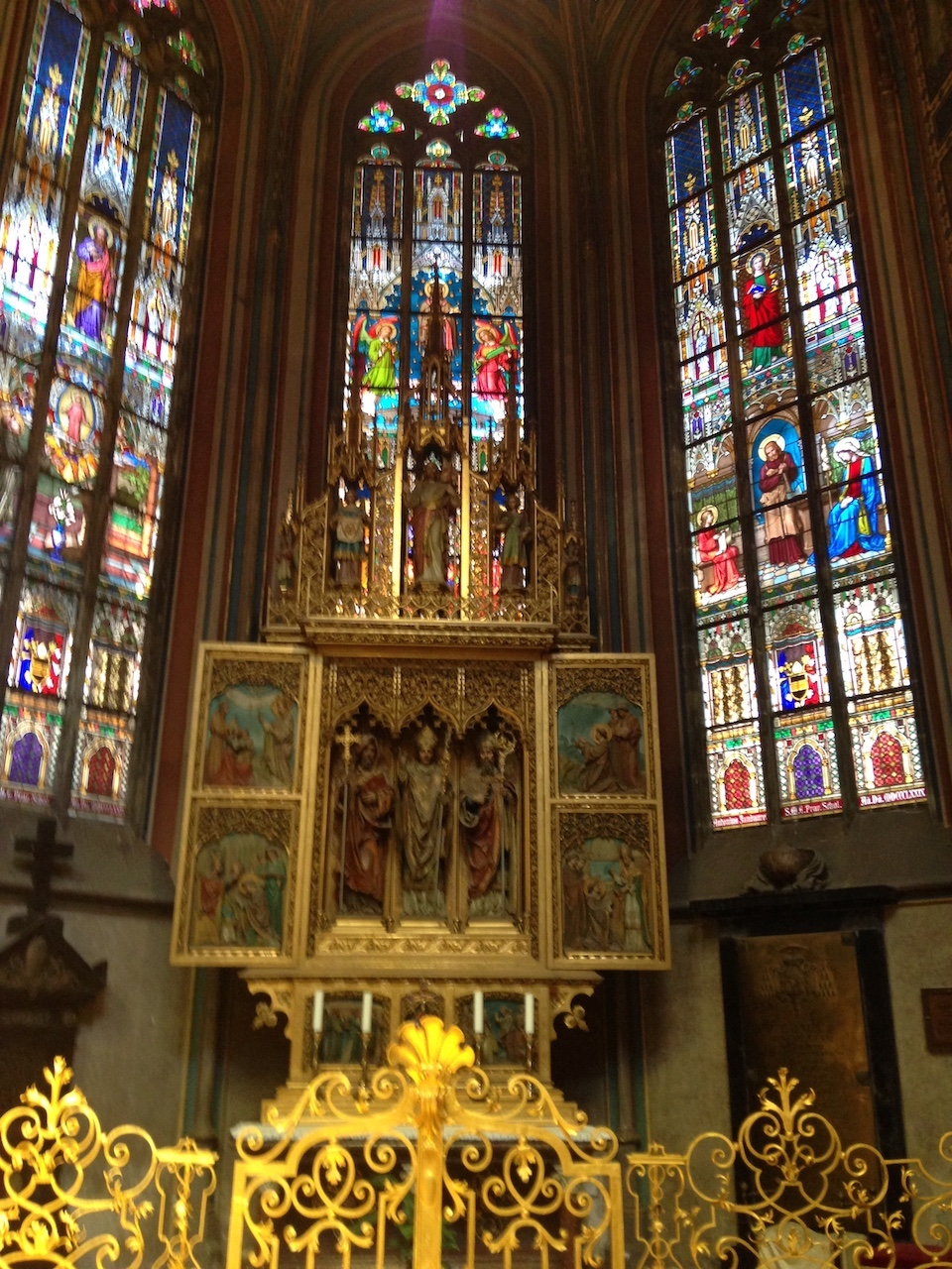 Intérieur de la cathédrale Saint Guy