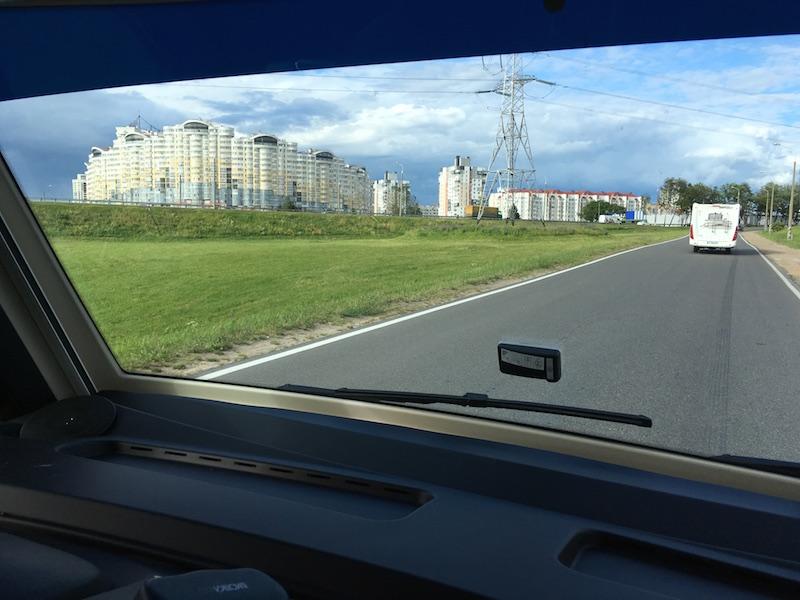 Arrivée sur Minsk !