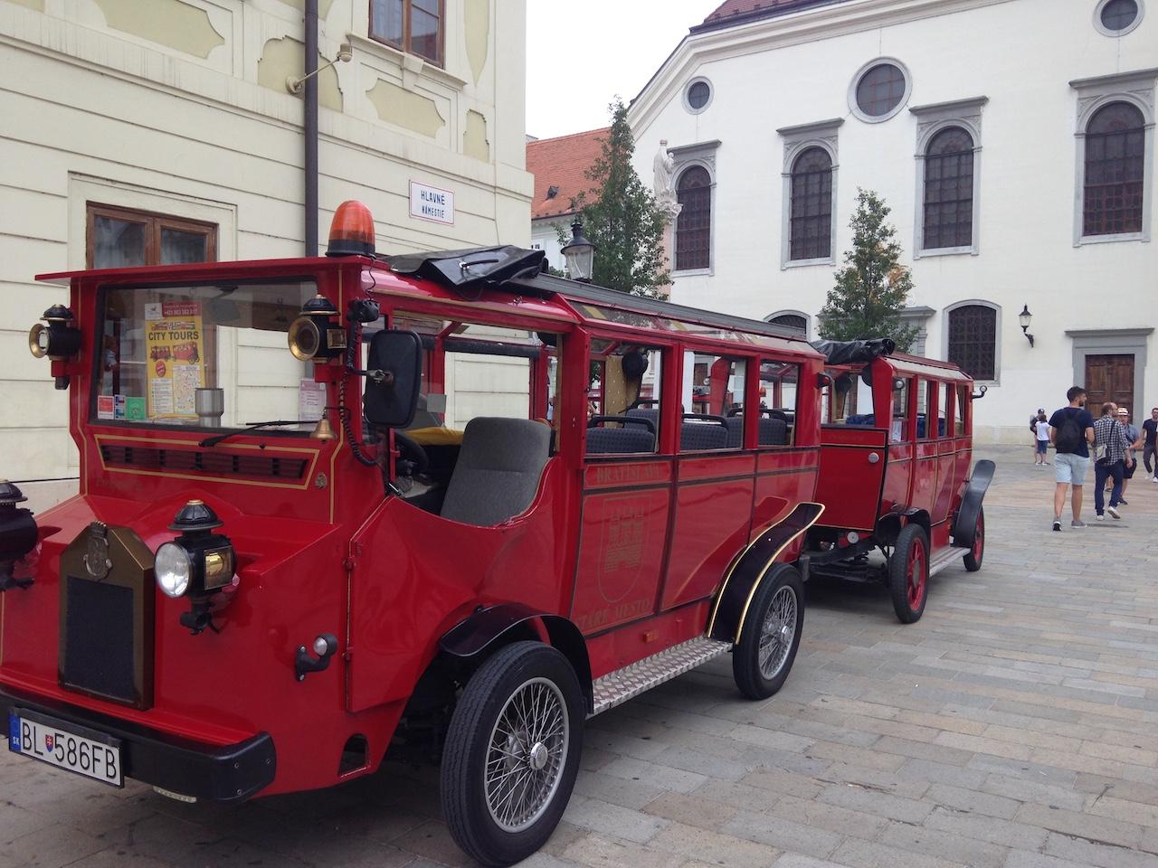 """Des bus """"city tour"""" originaux"""