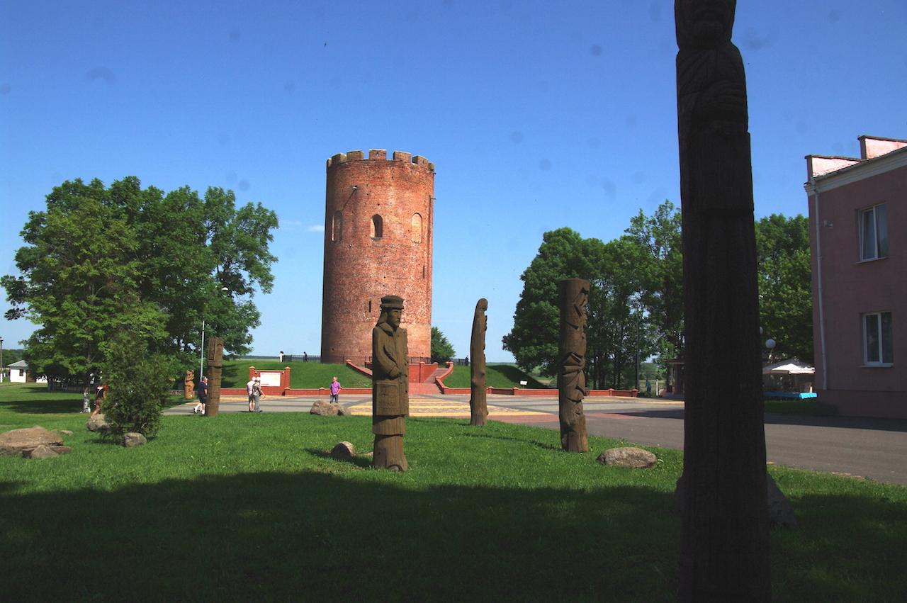 La Tour Blanche,un des symboles de la Bielorussie