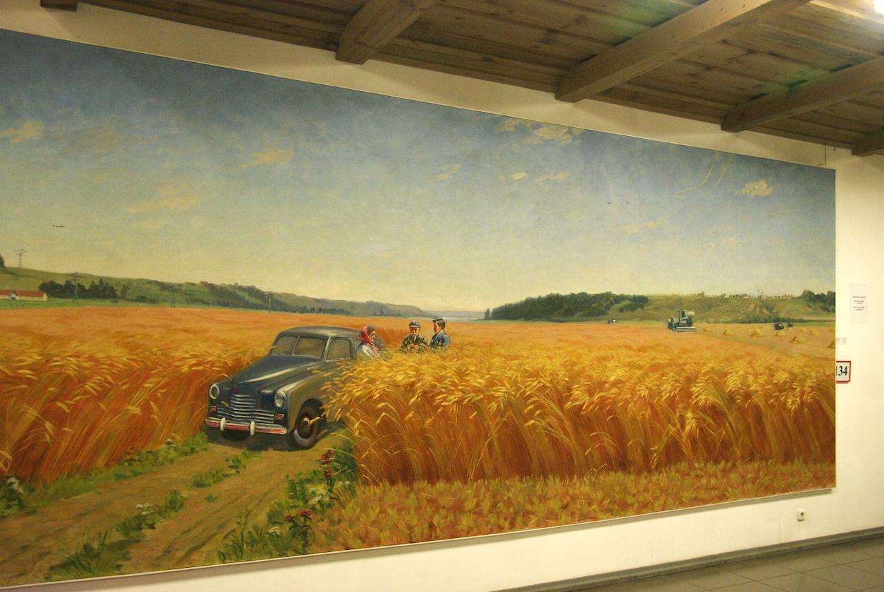 A la gloire de l'agriculture
