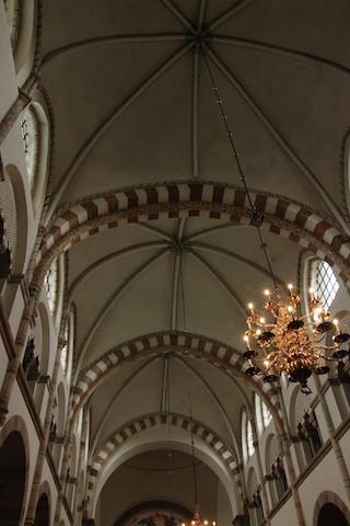 La voûte de la nef principale