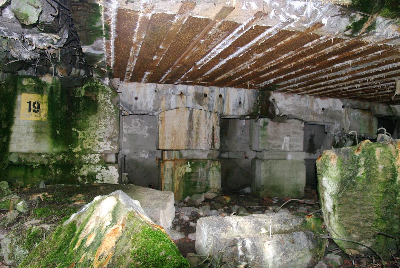 Bunker de Keitel, chef d'Etat major de la Wermacht