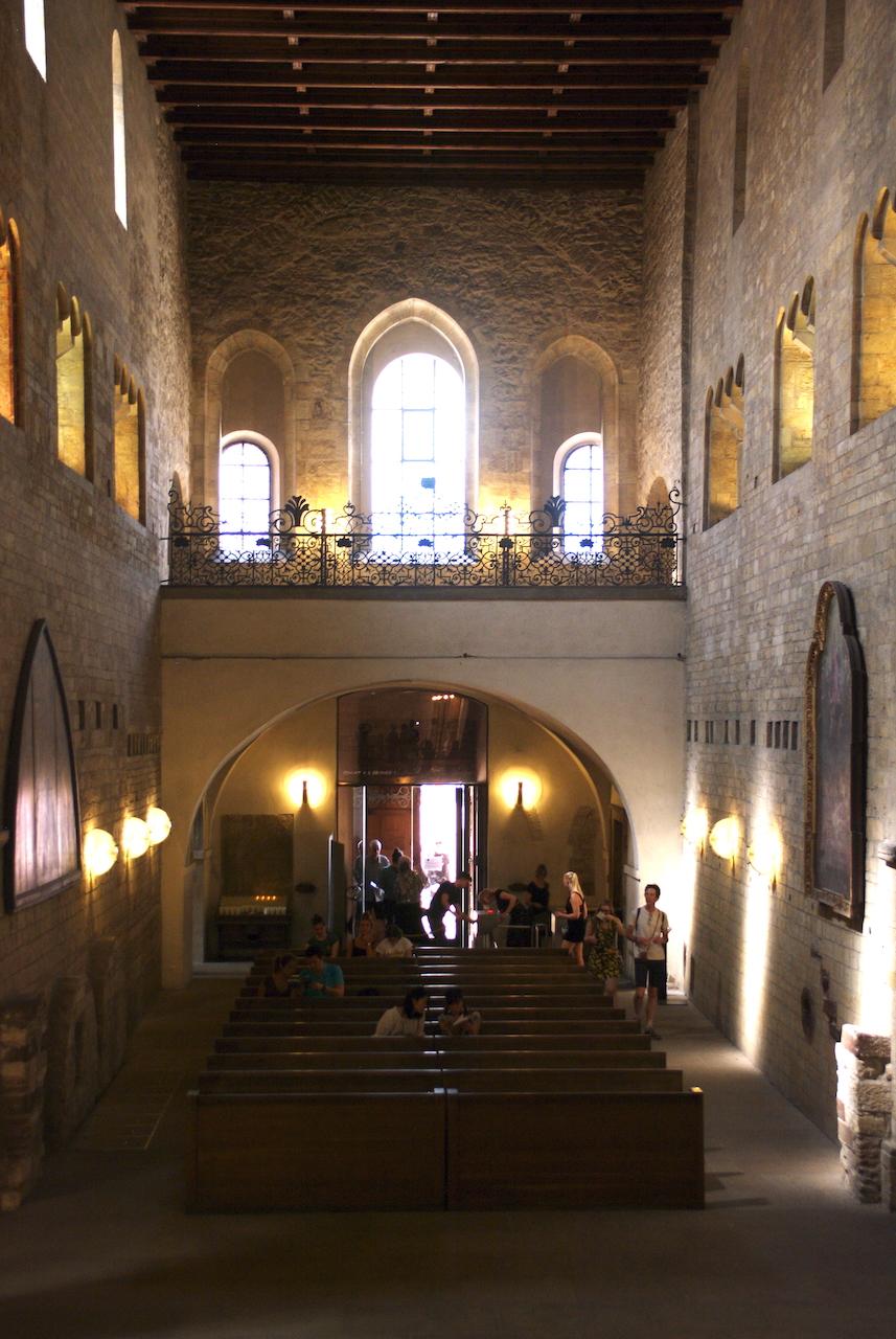 Intérieur de la Basilique saint Georges
