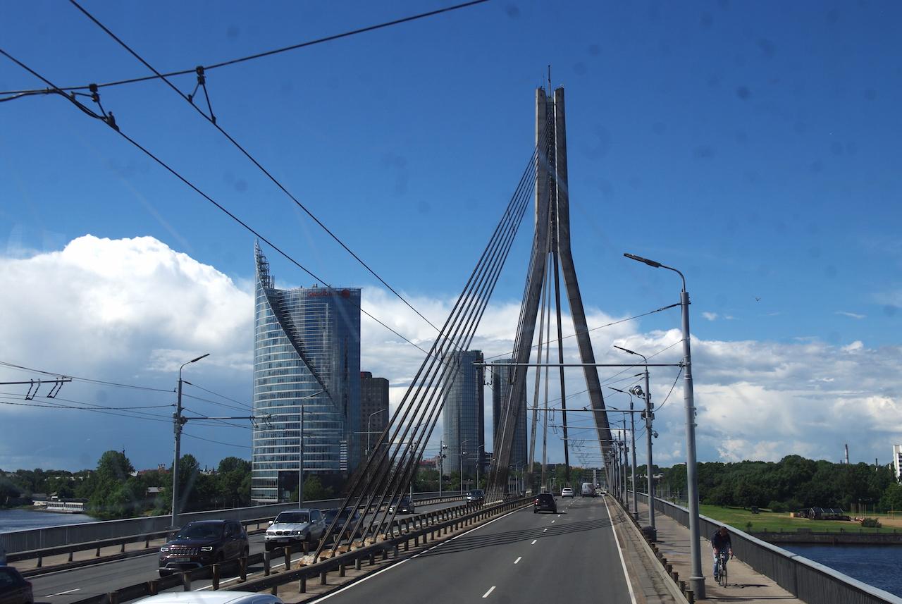 Le pont sur la Dagauva