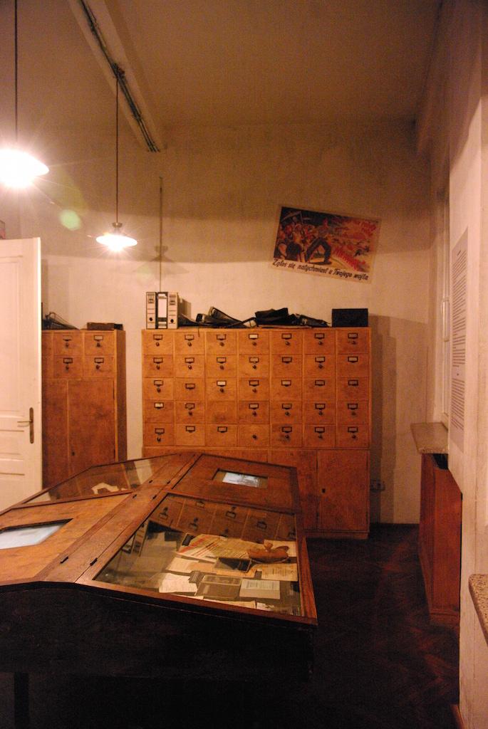 Le bureau d'Oskar Schindler