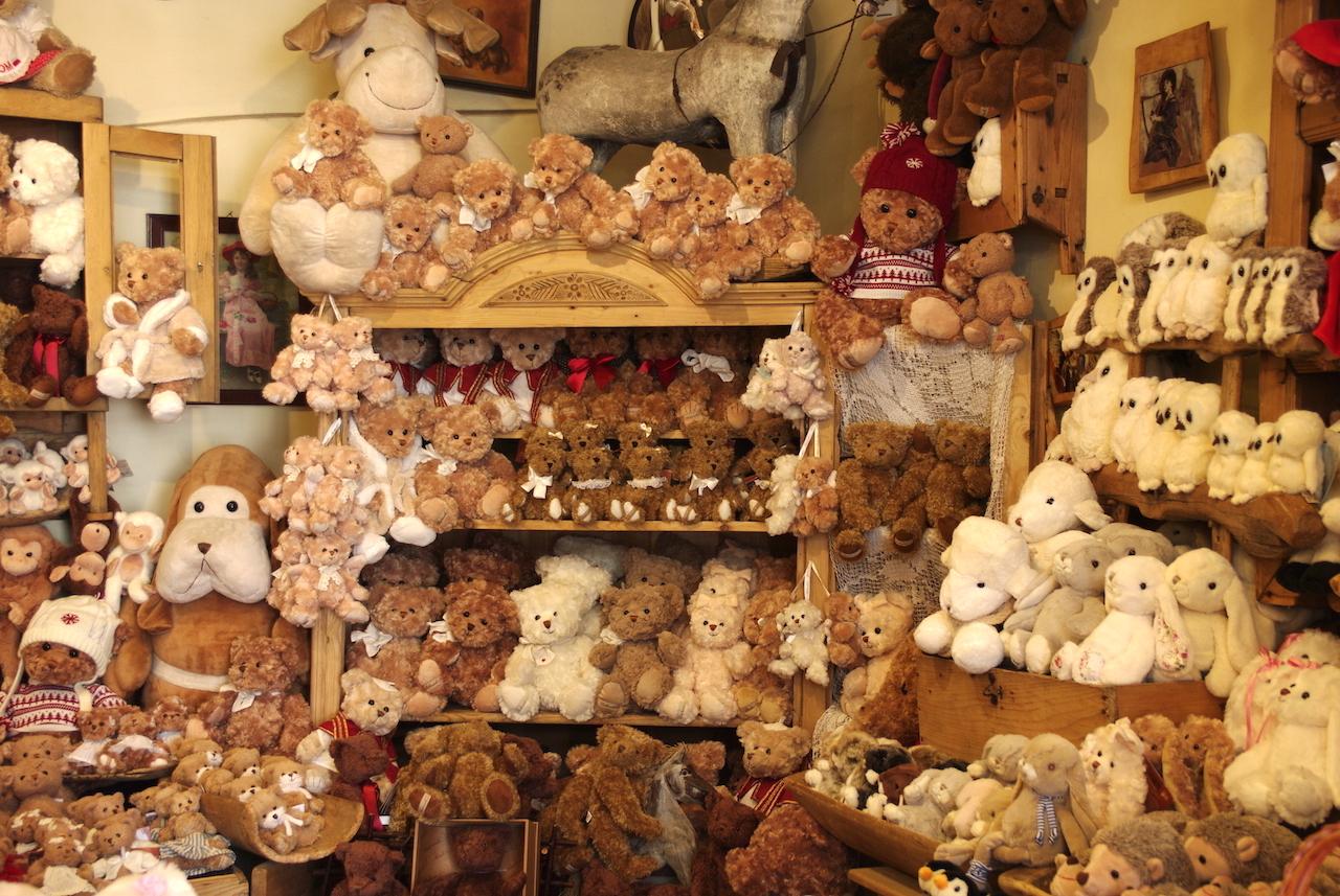 Boutique uniquement consacrée aux ours