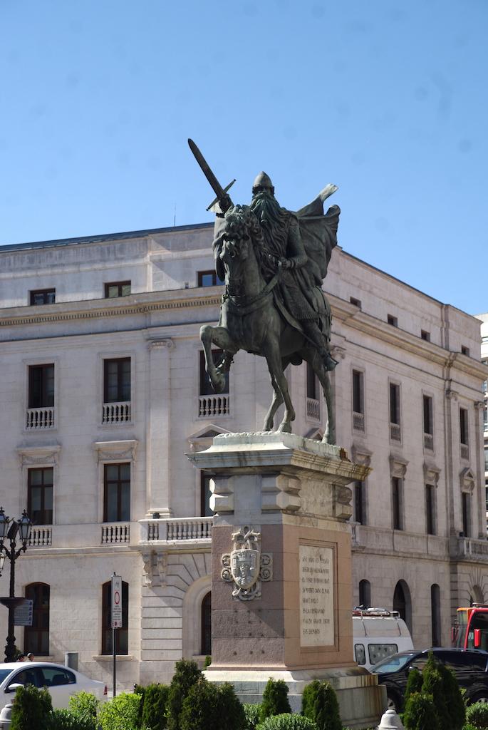 Statue équestre du Cid
